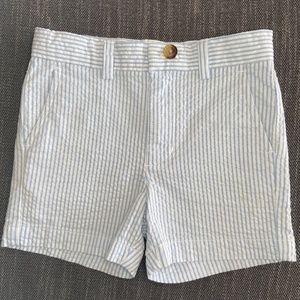 Vineyard Vines Blue Seersucker Classic Shorts 2T